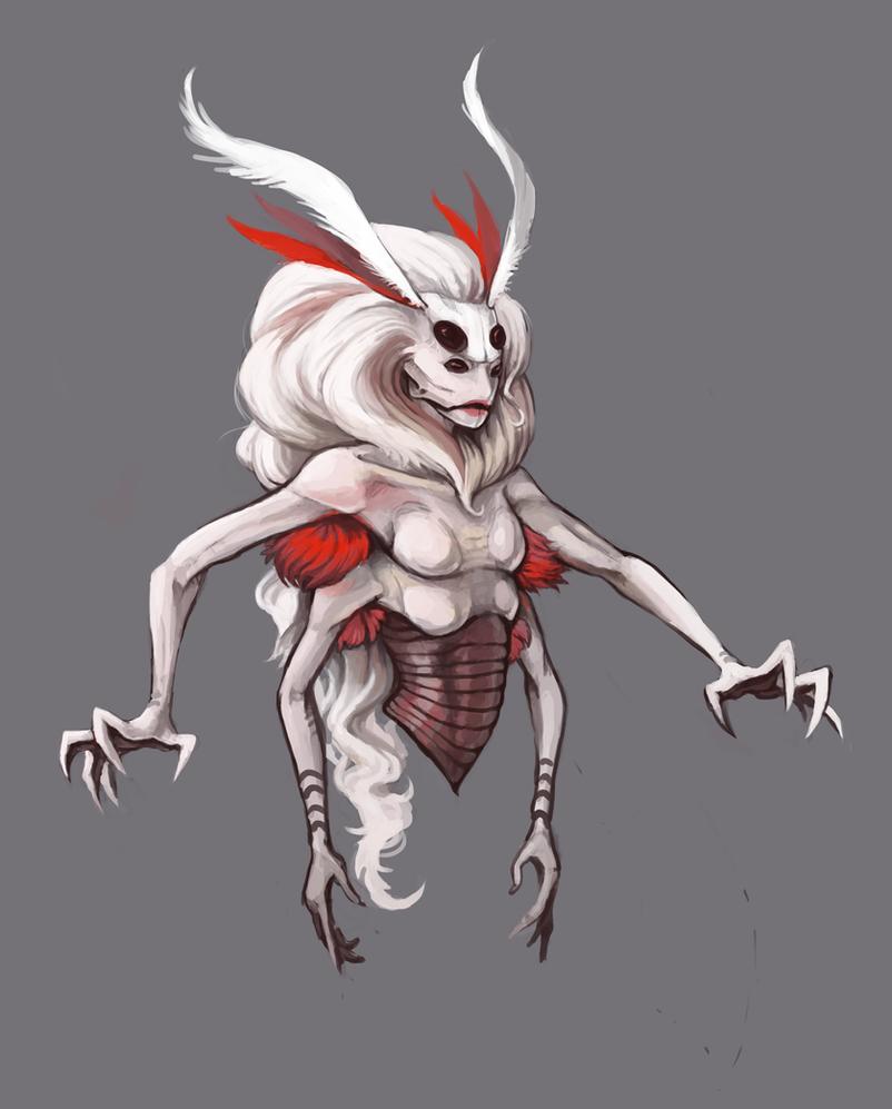 Moth woman by KGMomo