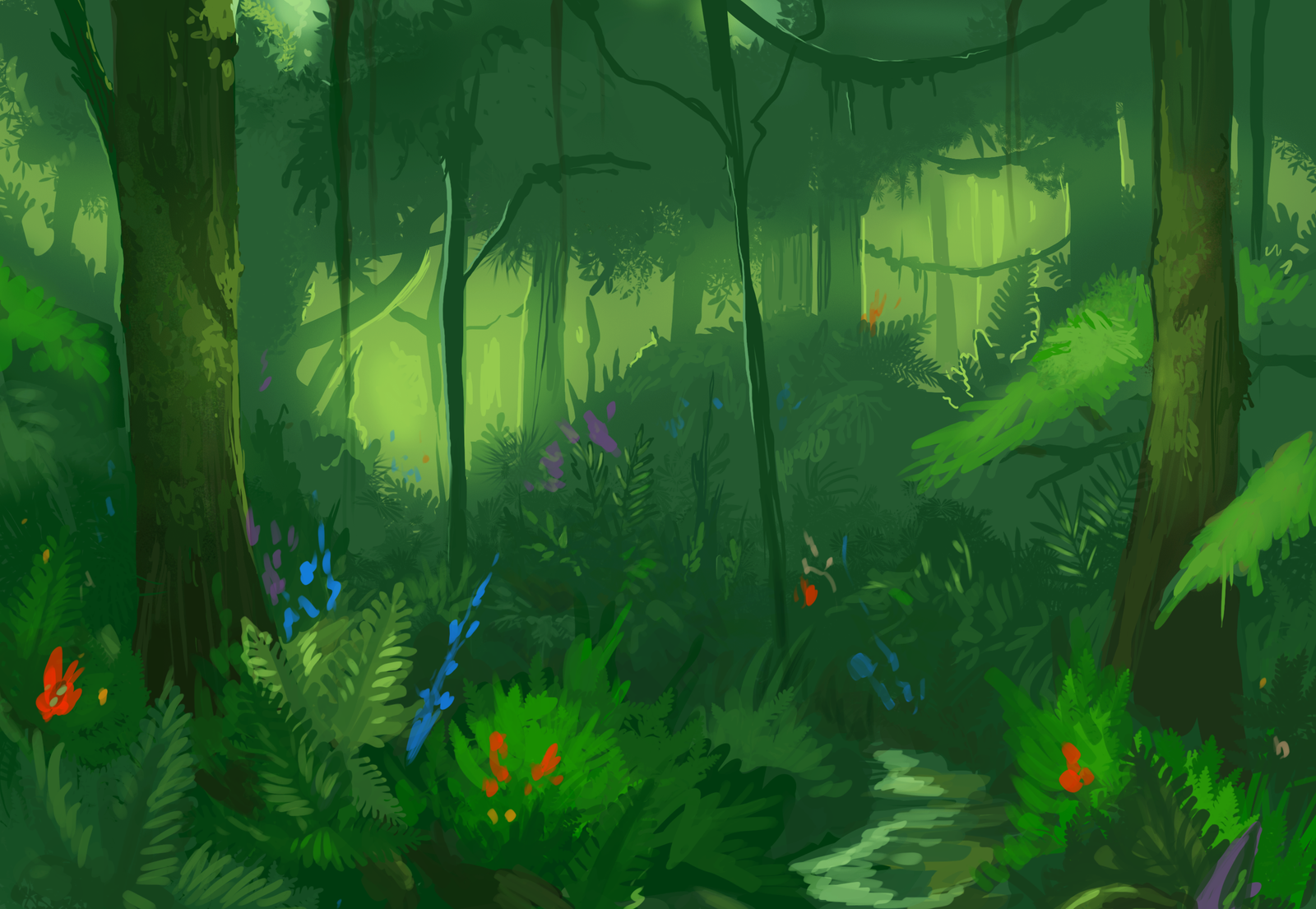 Rainforest Study by KGMomo