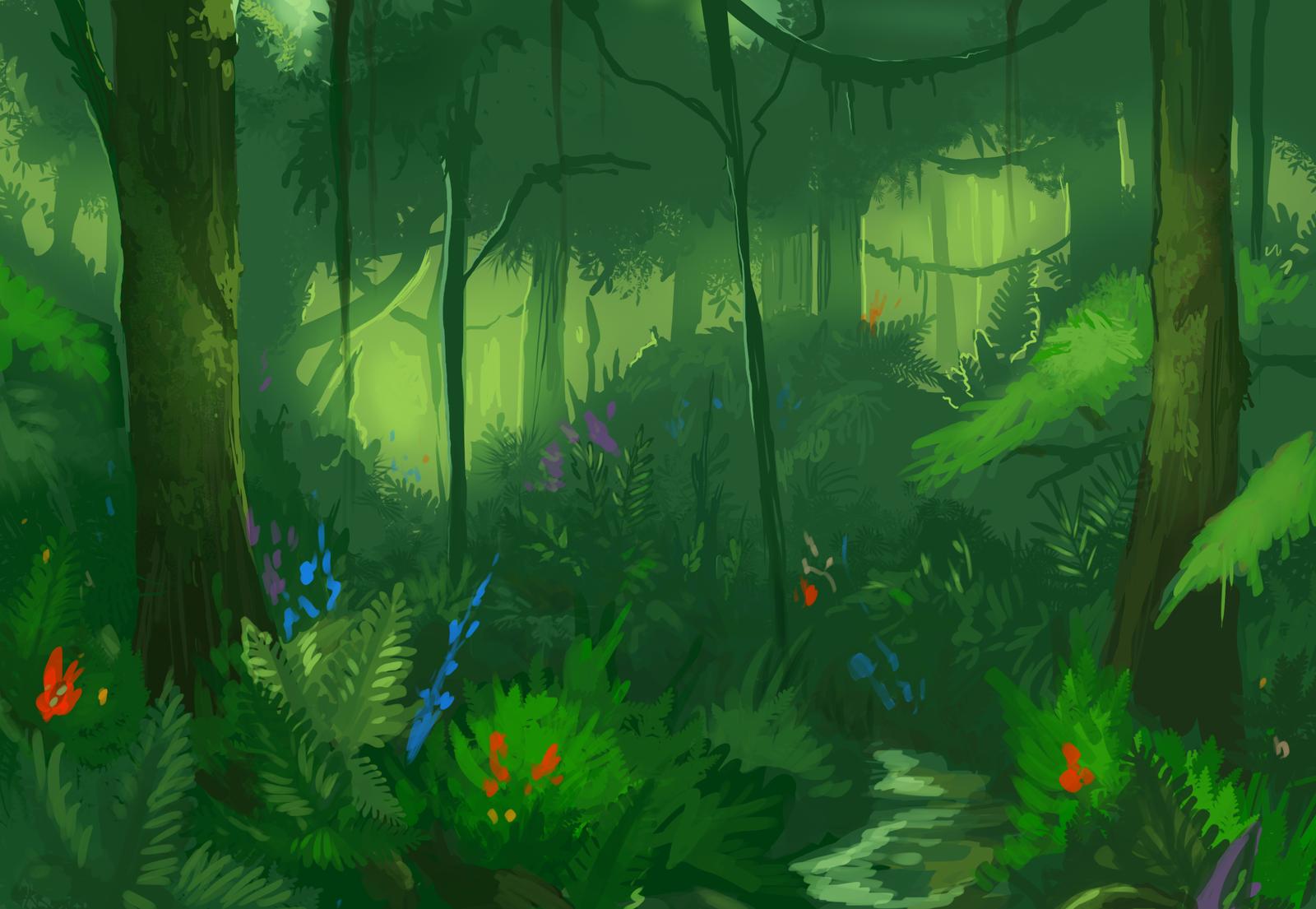Rainforest Study by KGMomo