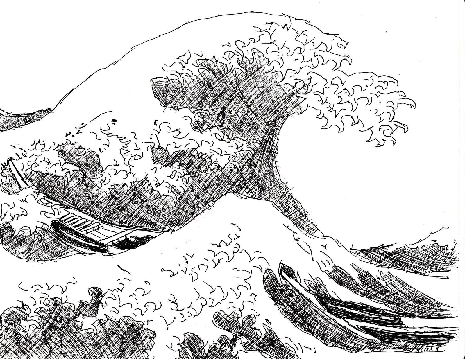Japanese Wave Art Japa...