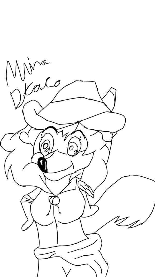 Mrina or Mina Draco (art trade) by Ah22783