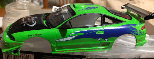 model kit with decals