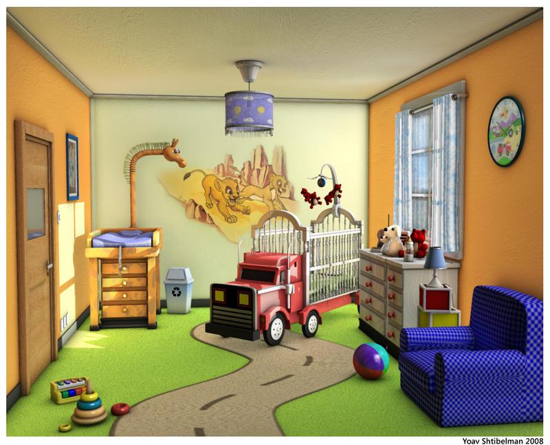 Safari baby room by shtibel on deviantart - Baby room pictures ...