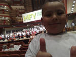 WERE AT THE ORCHESTRA