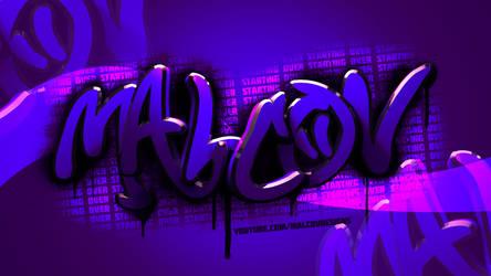 Malcov Graffiti Logo by Malcov