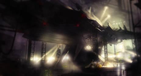 Spaceship by Malcov