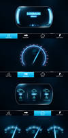 Car System UI by Malcov KJF