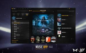 Desktop Music App by Malcov KJF by Malcov