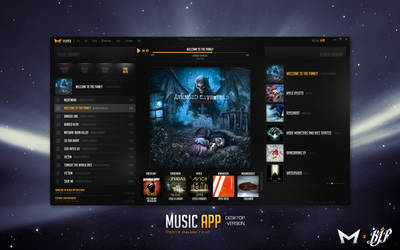 Desktop Music App by Malcov KJF