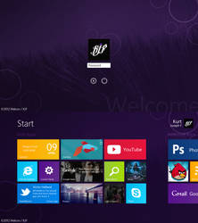 Windows 8 Metro Mockup/Recreation by Malcov KJF