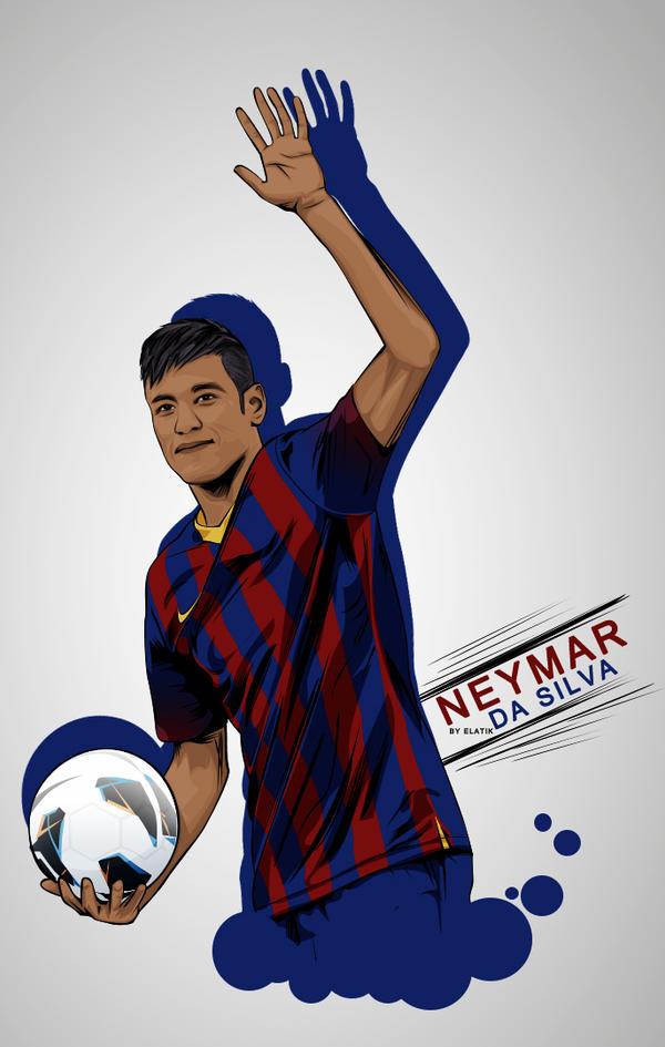 messi and neymar wallpaper 2013