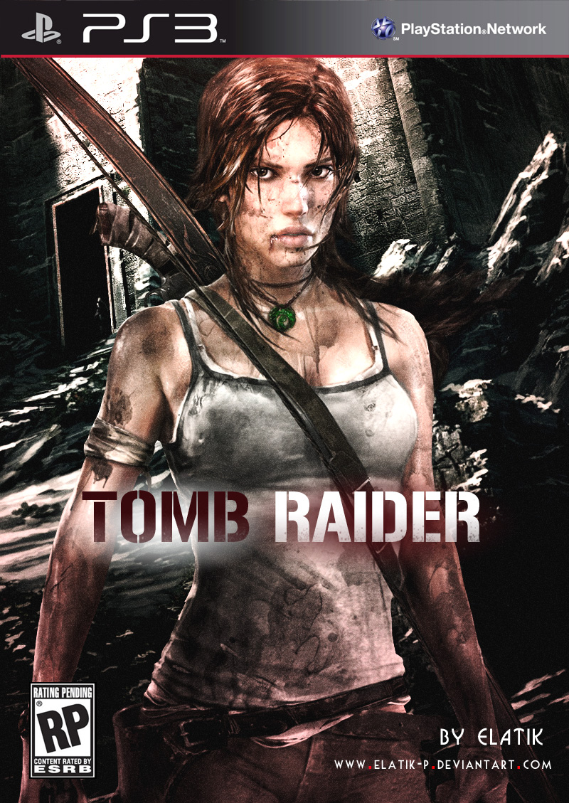 Tomb Raider 2013 Poster by elatik-p