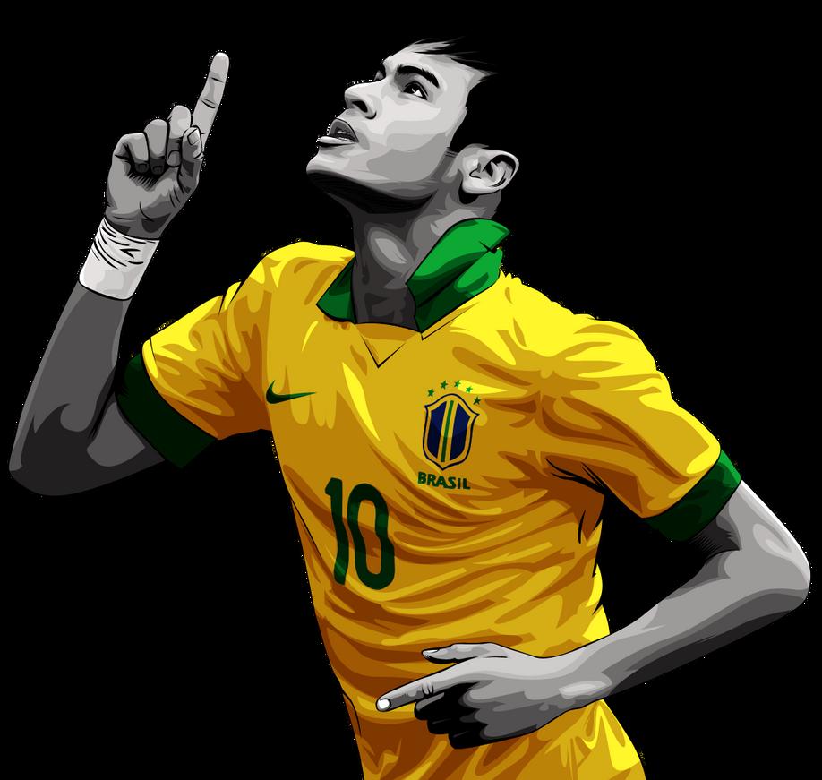 Neymar Da Silva Vector Render V1 By Elatik P