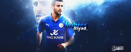 Riyad Mahrez By Elatik-p On DeviantArt
