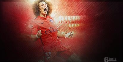 David Luiz sign by elatik-p
