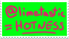 Limetastic equal Hotness Stamp by distortified