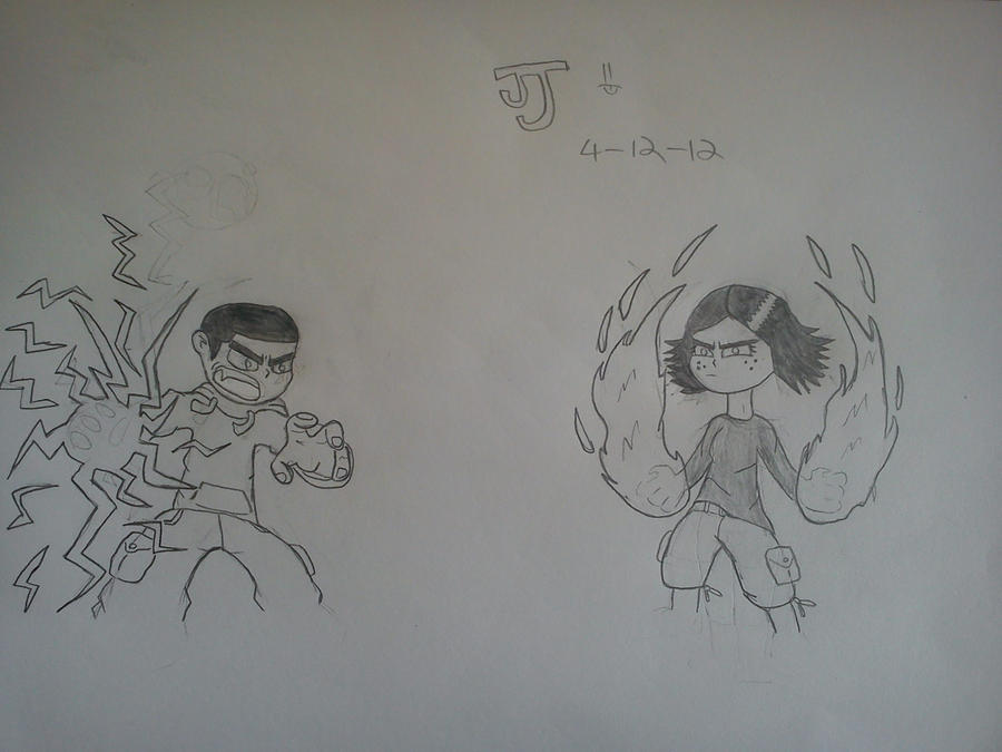 Commission: Dinoman vs. Sh3ikha by DinomanInc