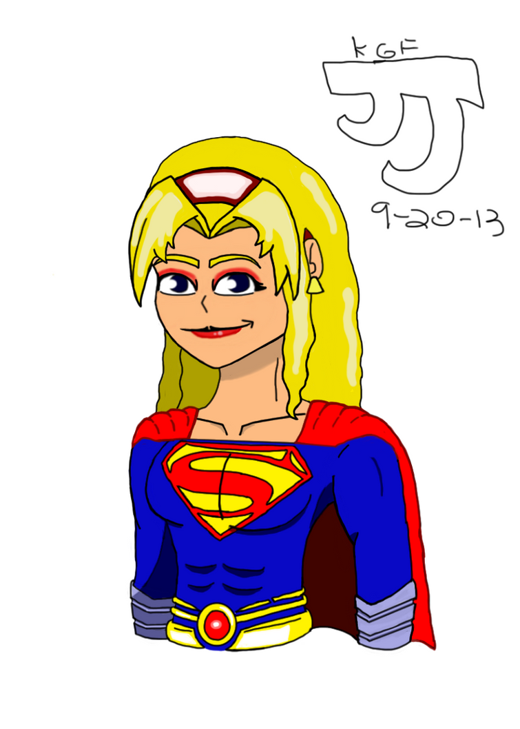 Girl of Steel by DinomanInc
