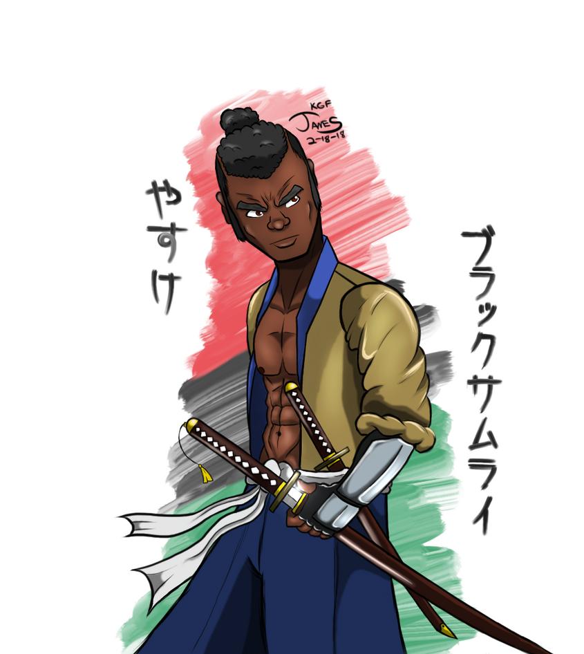 Yasuke by DinomanInc