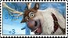 I Love Sven Stamp by NomNomUrSoul2DEATH