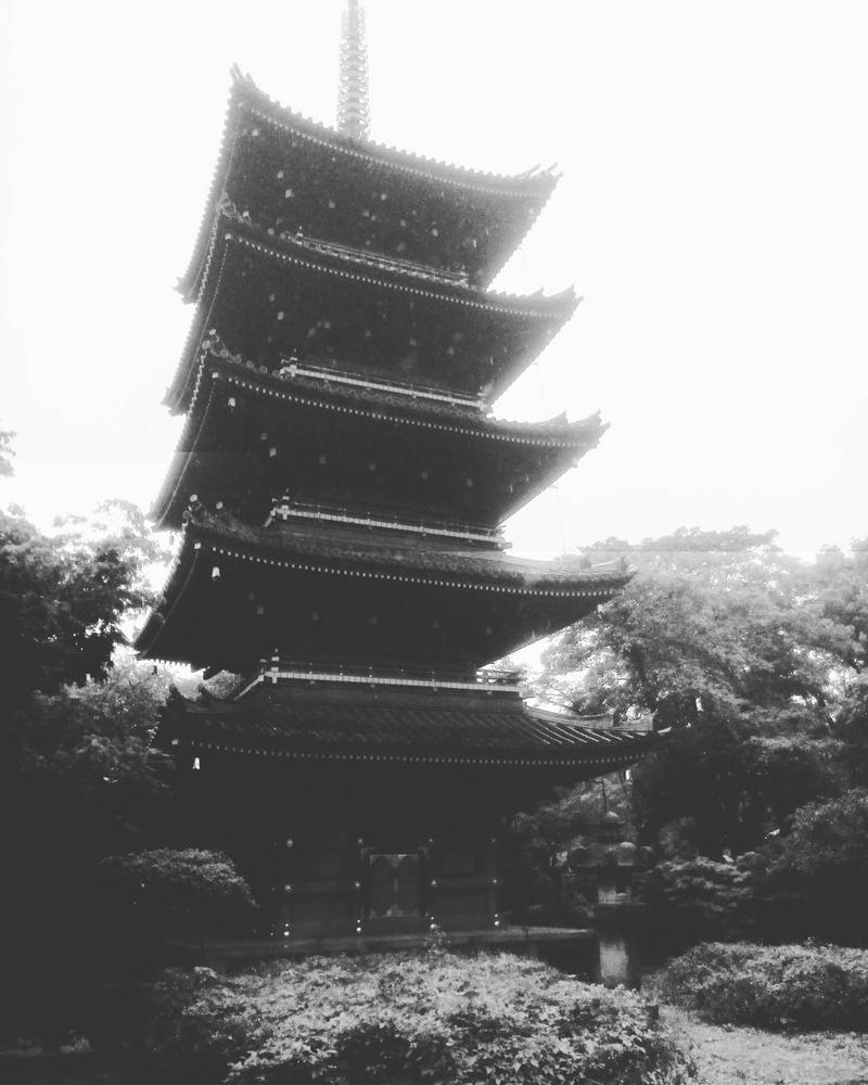 pagode by CartonBlinder