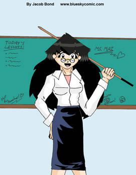 Blue Sky: School Teacher Mai