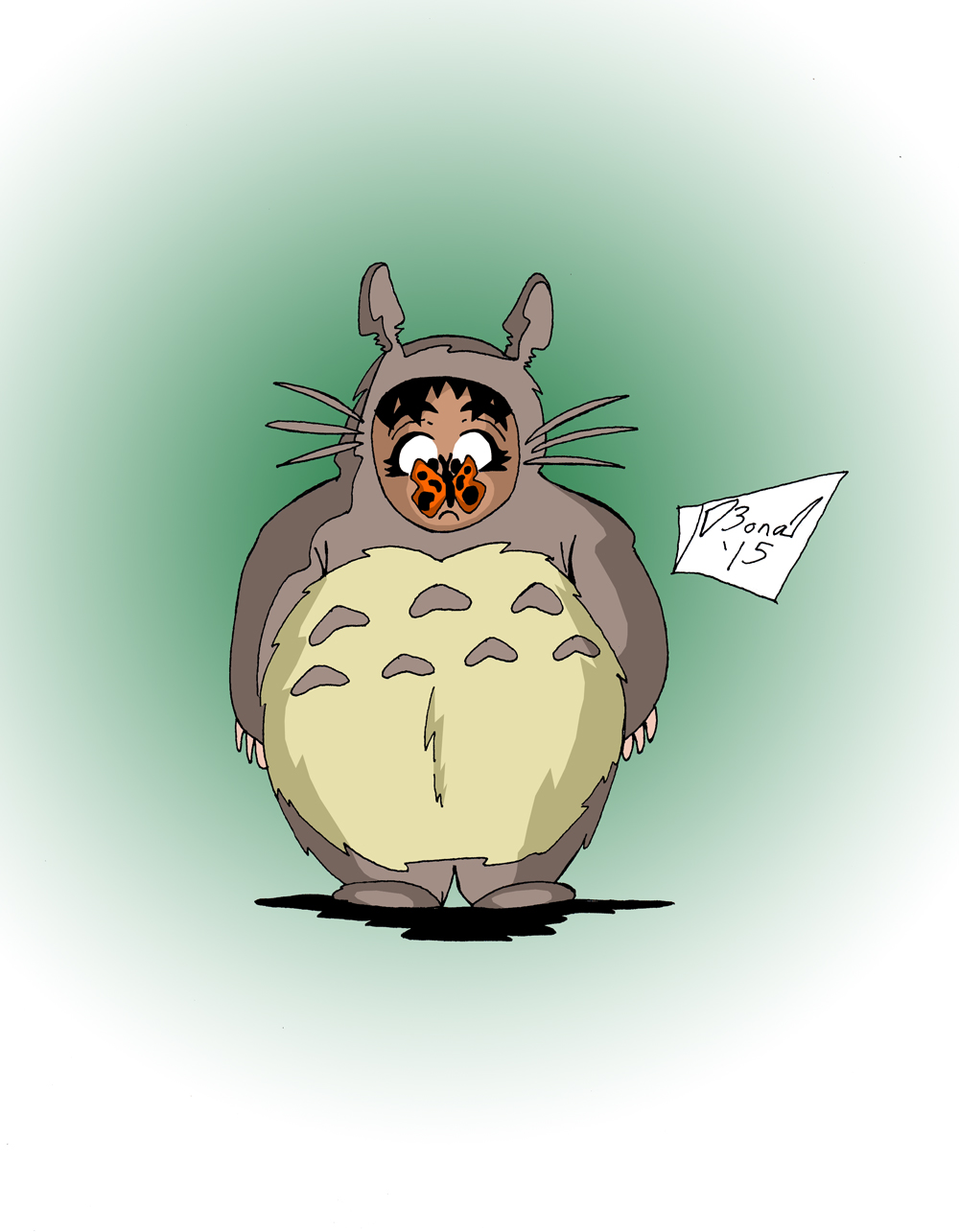 Toshokan Anime Club: Totoro Sera by jmbond01