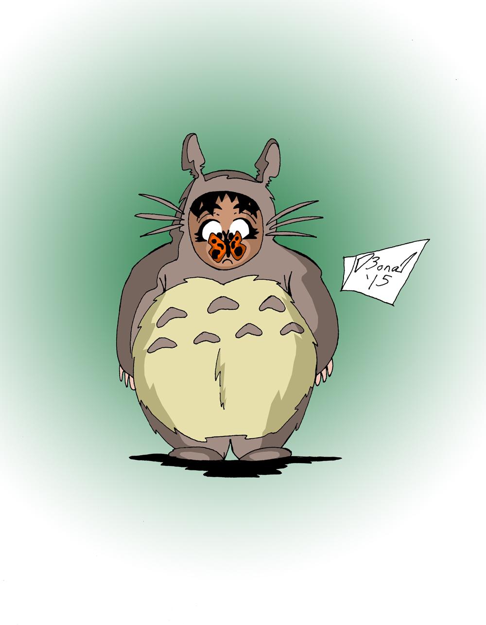 Toshokan Anime Club: Totoro Sera by jmbond01