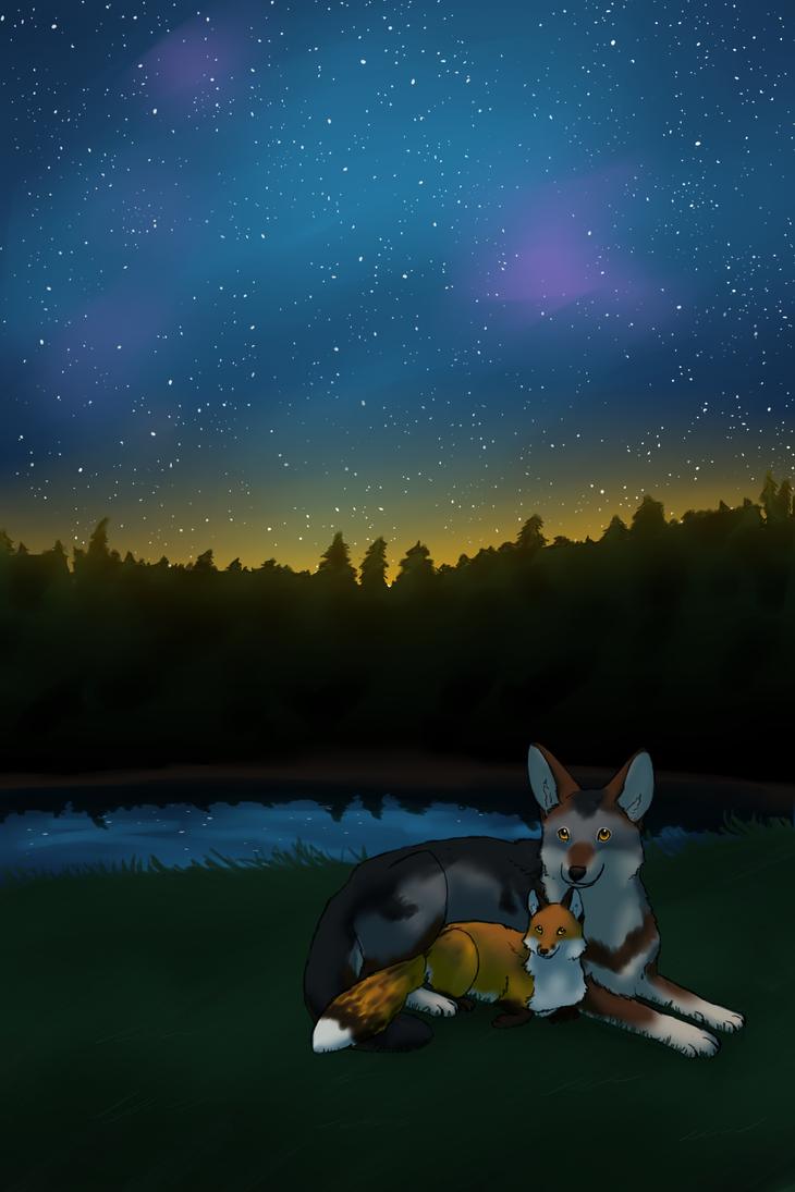 Star Gazing by WildRequiem
