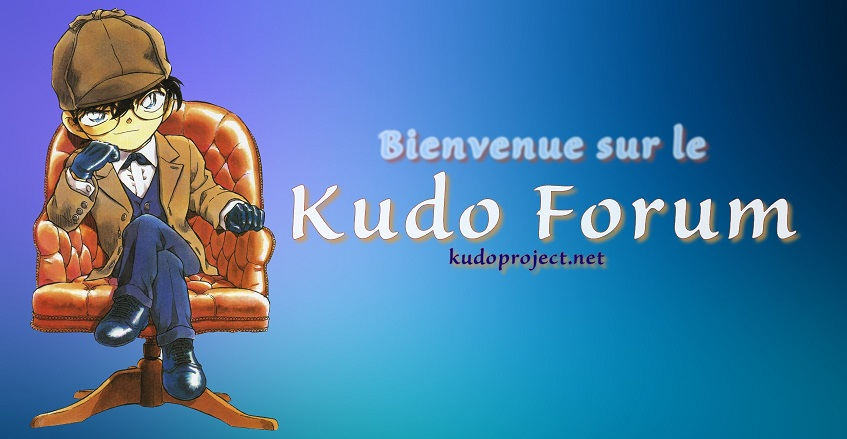 Banniere du Kudo Forum by YamiCecile