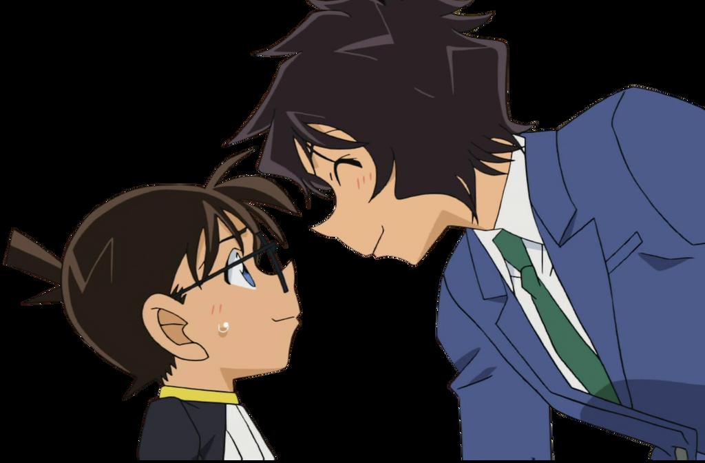 Conan and Masumi Render by YamiCecile