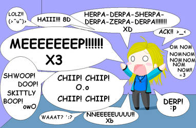 Me and my little phrases o.o by Valentine-13
