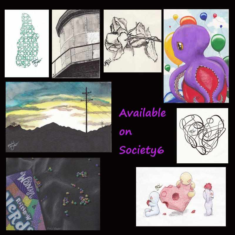 Society6 promotion by klunkyboots on deviantart for Websites similar to society6