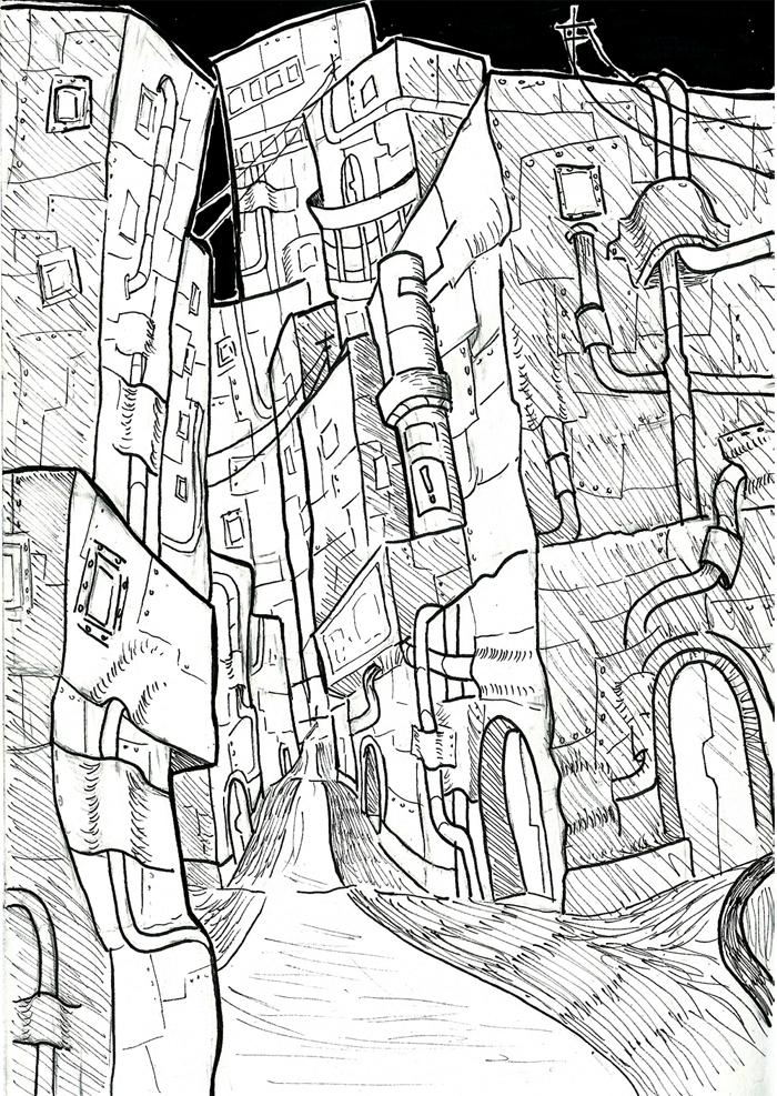 City 001 by yooci