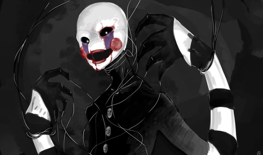 Marionette fnaf by demon desire on deviantart click for details fnaf