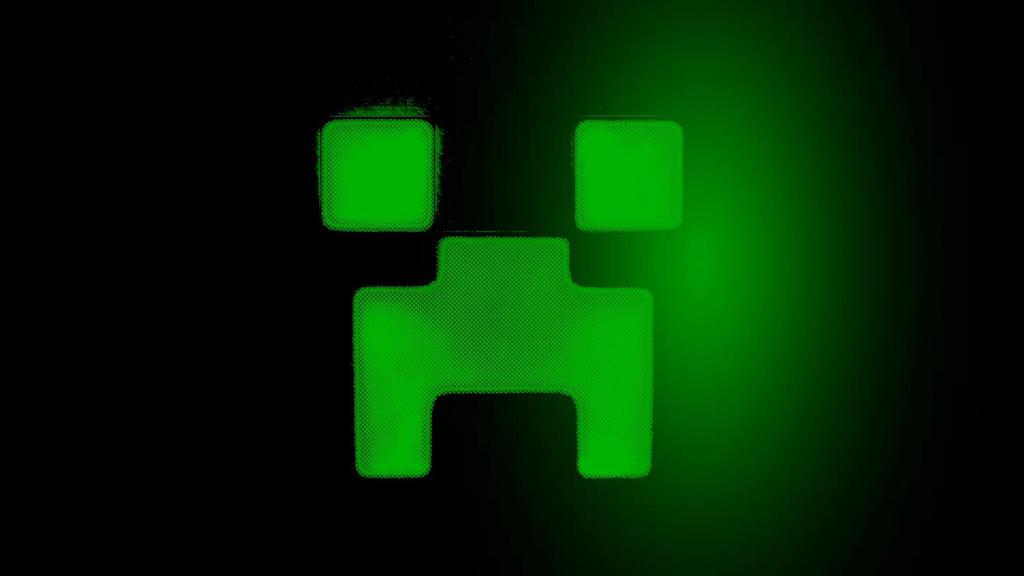Neon Green (Creeper Wallpaper 2) by