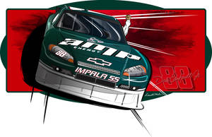 Amp Emergy Sprint Cup car by graphicwolf