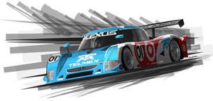 Target Telmex DP car