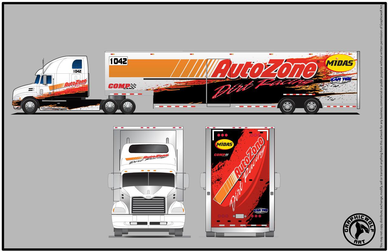 Autozone Buggy Hauler By Graphicwolf On Deviantart