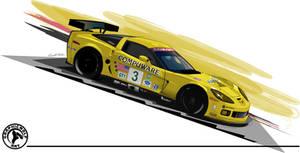 ALMS Corvette