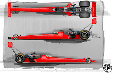 Top Fuel Dragster Template