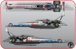 Coors Light Dragster by graphicwolf
