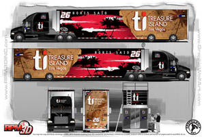 Sprint Cup Hauler for 26 team by graphicwolf