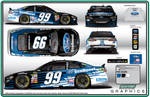 2014 Roush Fenway #99 EcoBoost Ford Fusion
