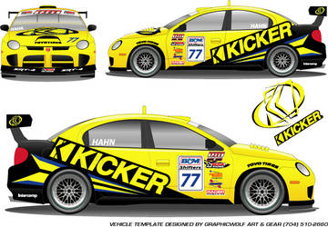 Kicker Dodge by graphicwolf