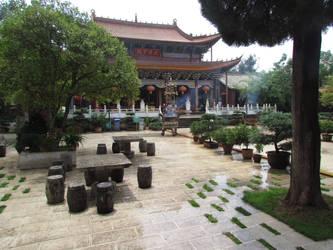 Qiongzhu Temple by MacroRufus