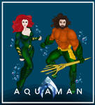 Princess Mera and Aquaman