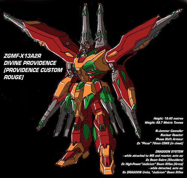 Gundam - Divine Providence by ProvidenceZero
