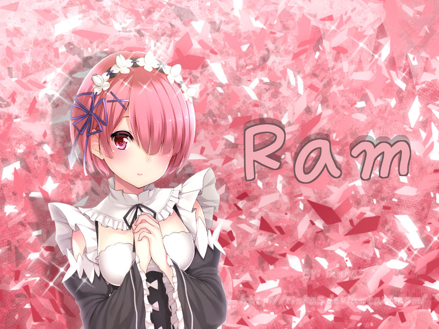 Ram Re Zero Wallpaper By Rinkas On Deviantart