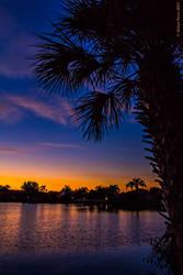 Sunset at Egret Lake